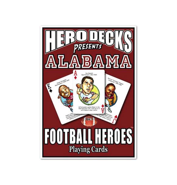 The Original Hero Decks University of Alabama Football Heroes Playing Cards