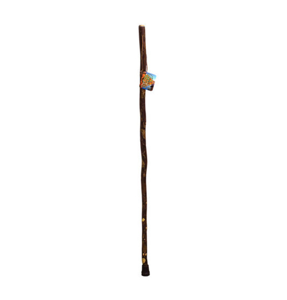 TriRiver Handcrafted Walking Stick Kid's Size, Natural Wood 41 in.