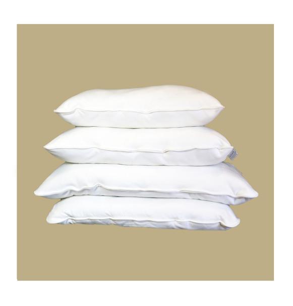 Malpaca Pure Alpaca Pillow, Travel Size All Natural Fiber Pillow