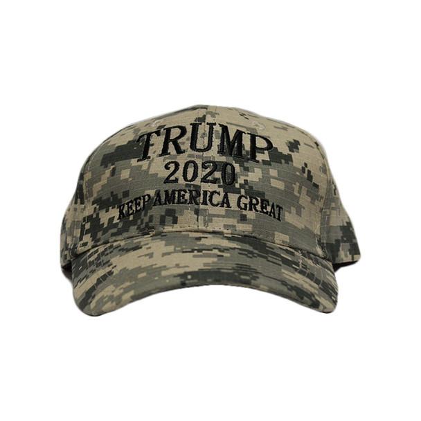 Keep America Great Trump 2020 Digital Green Camo Hat