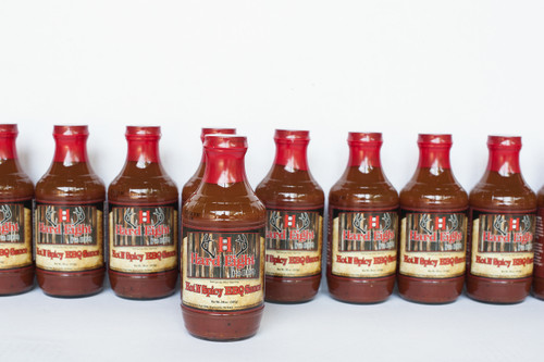 Hot N Spicy BBQ Sauce - Case of 12