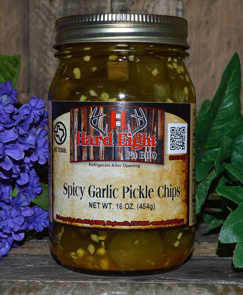 Spicy Garlic Pickle Chips