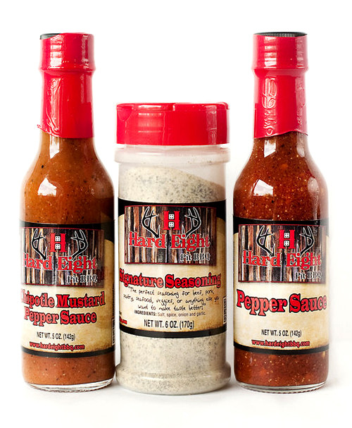 Pepper Sauce and 6 oz Seasoning Gift Box