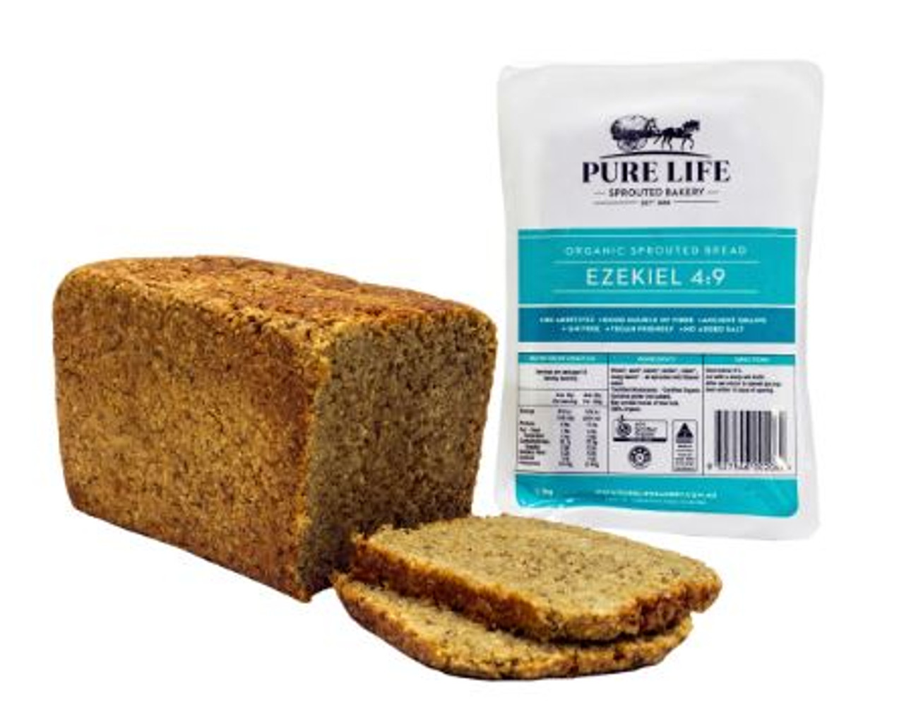 Pure Life Sprouted Bread Essene Ezekiel
