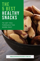 The 5 Best Healthy Snacks, to Get You Through the Work Day