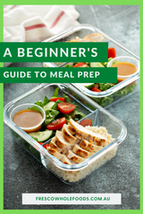 Save Money, Gain Time:  A Beginner's Guide to Meal Prep