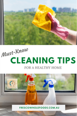 Must-Know Cleaning Tips for a Healthy Home