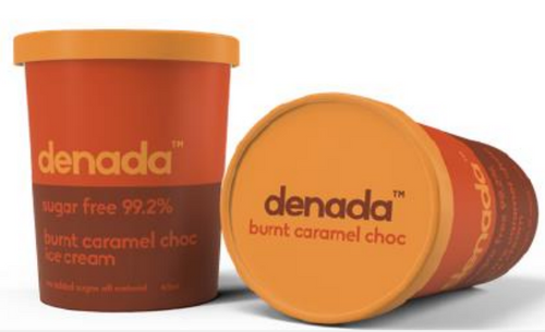 Denada Burnt Caramel Chocolate  Flake 475ml x 6