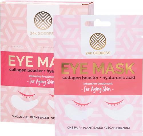 24K Goddess Eye Mask Aging Skin 10 Pairs Single Use