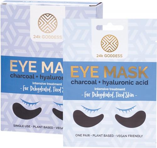 24K Goddess Eye Mask Dehydrated, Tired Skin 10 Pairs Single Use
