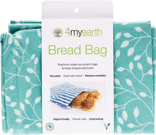 4Myearth Bread Bag Leaf 30x40cm