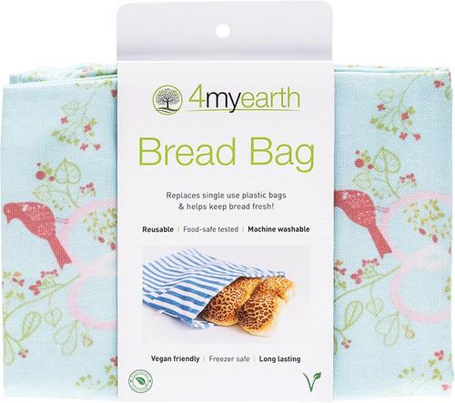 4Myearth Bread Bag Love Birds 30x40cm