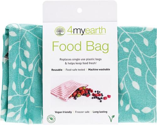 4Myearth Food Bag Leaf 25x20cm