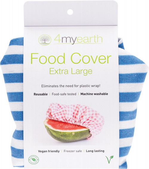 4Myearth Food Cover Denim Stripe XL