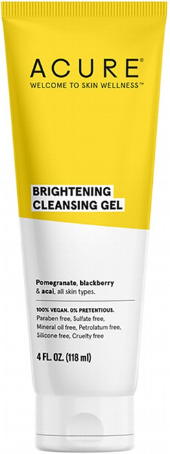 Acure Brightening Cleansing Gel 118ml