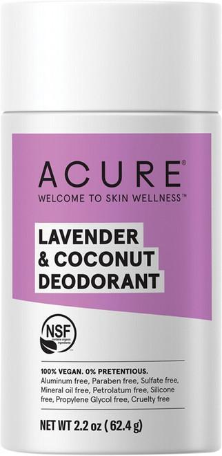 Acure Deodorant Stick Lavender & Coconut 63g