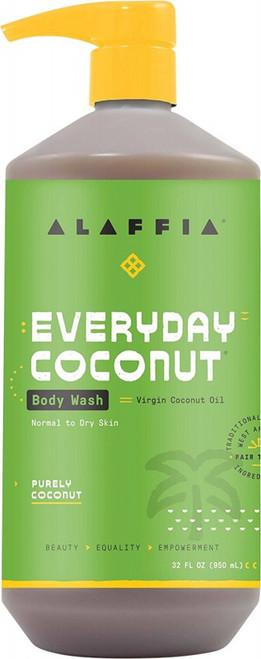 Alaffia Everyday Coconut Body Wash Purely Coconut 950ml