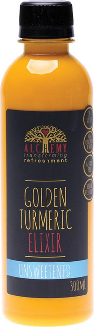 Alchemy Golden Turmeric Elixir Unsweetened Juice 300ml