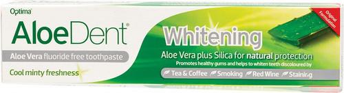 Aloe Dent Toothpaste Fluoride Free Whitening 100ml