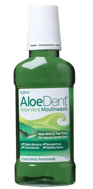 Aloe Dent Mouthwash Alcohol Free Aloe Vera & Tea Tree 250ml
