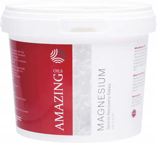 Amazing Oils Magnesium Sports Recovery Bath Flakes 2kg