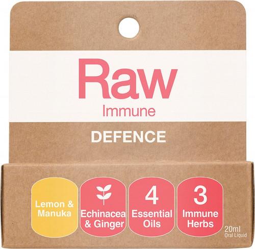 Amazonia Raw Immune Defence Lemon Manuka 20ml