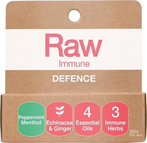 Amazonia Raw Immune Defence Peppermint Menthol 20ml