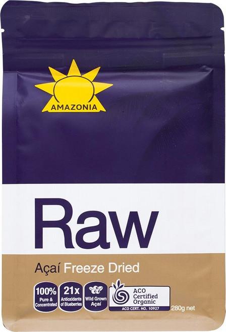 Amazonia Raw Acai Berry Freeze Dried Powder 280g