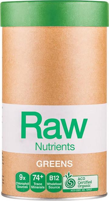 Amazonia Raw Nutrients Greens Mint & Vanilla Flavour 600g