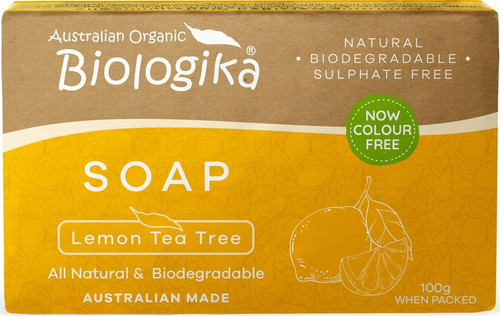 Biologika Soap Lemon Tea Tree 100g