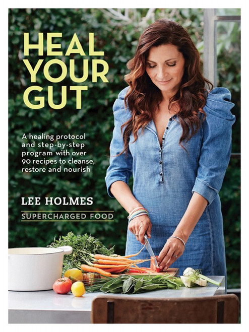 Book Heal Your Gut: Supercharged Food By Lee Holmes