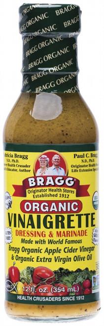 Bragg Salad Dressing Healthy Vinaigrette 354ml
