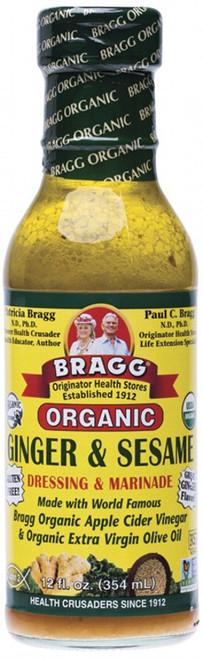 Bragg Salad Dressing Ginger & Sesame 354ml