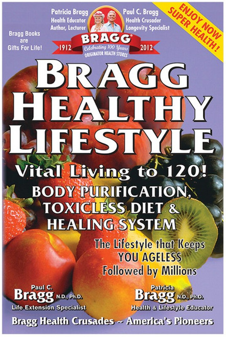 Book Bragg Healthy Lifestyle By Paul & Patricia Bragg