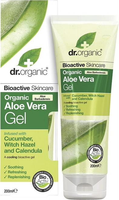 Dr Organic Aloe Vera Gel With Cucumber Organic Aloe Vera 200ml