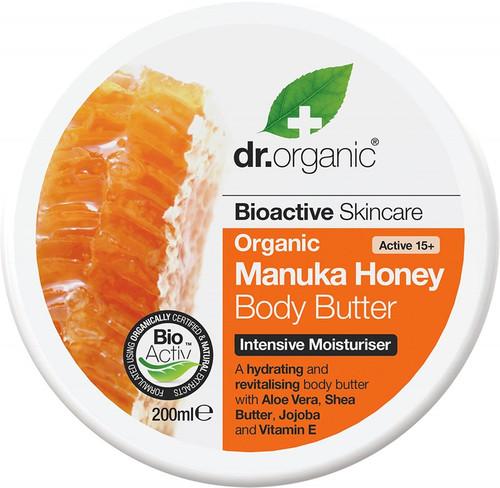 Dr Organic Body Butter Organic Manuka Honey 200ml