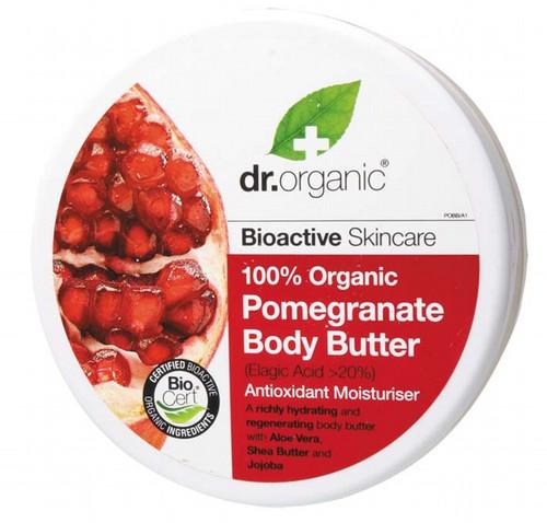 Dr Organic Body Butter Organic Pomegranate 200ml