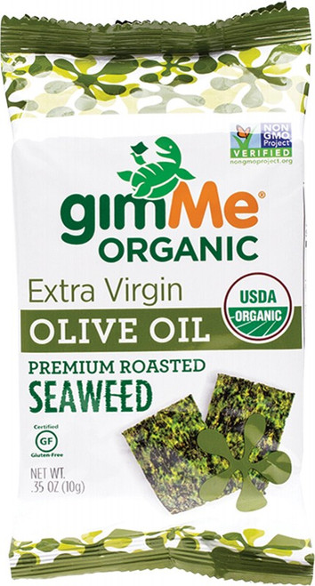 Gimme Roasted Seaweed Snacks Olive Oil 10g