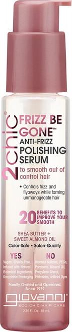 Giovanni Anti-Frizz Serum 2Chic Frizz Be Gone (Frizzy Hair) 81ml