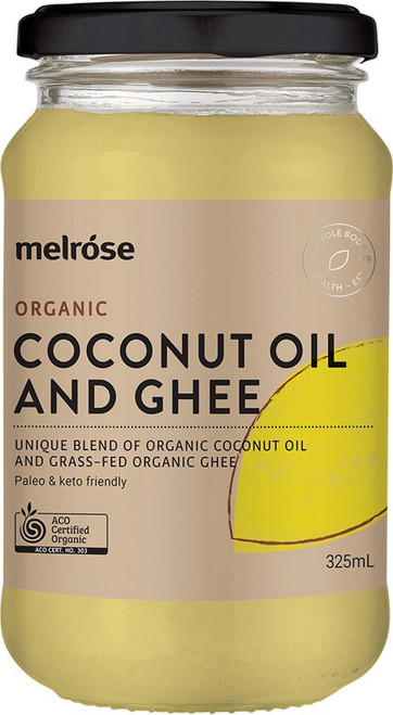 Melrose Coconut Oil & Ghee Organic 325ml