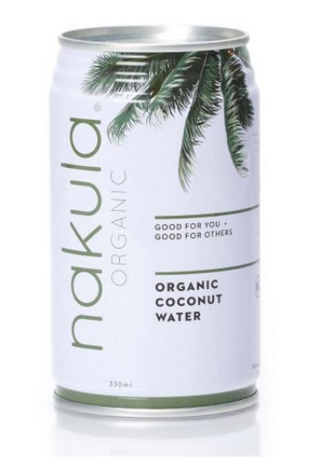 Nakula Organic Coconut Water 330ml x 12