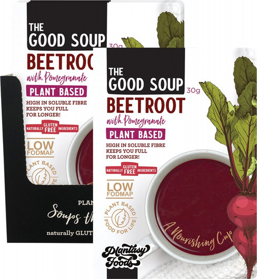 Plantasy Foods The Good Soup Beetroot with Pomegranate 10x30g