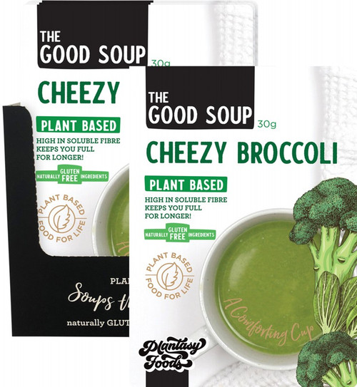 Plantasy Foods The Good Soup Cheezy Broccoli 10x30g