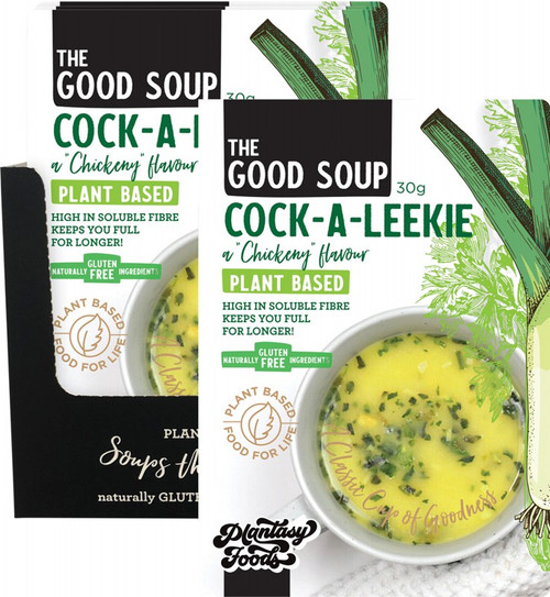 Plantasy Foods The Good Soup Cock-A-Leekie 10x30g