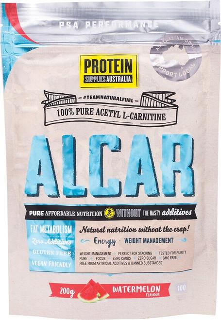 Protein Supplies Australia Alcar (Acetyl L-Carnitine) Watermelon 200g
