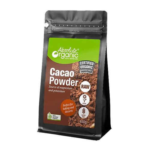 Absolute Organic Raw Cacao Powder 450g