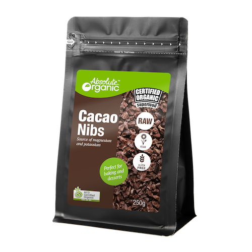 Absolute Organic Cacao Nibs 250g
