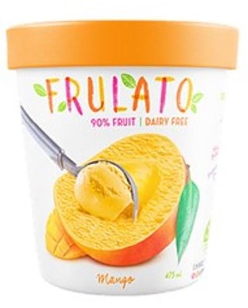Frulato 90% Fruit Dessert - Mango Ice Cream 475ml x 6