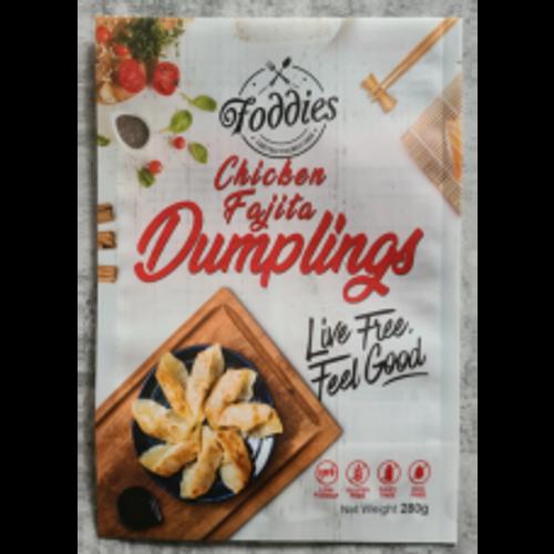 Foddies  Foddies Chicken And Fajita Dumplings 280g x 6