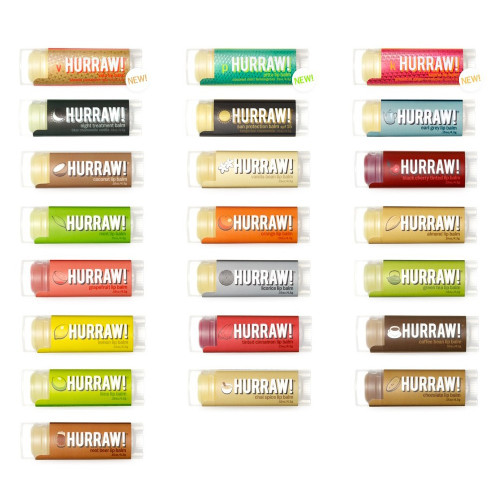 Hurraw Lip Balm 4.8g All Flavours
